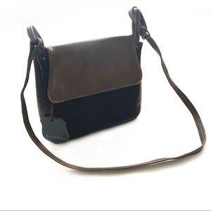 Vintage Barbara for Tadora Leather Crossbody Bag